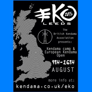 European Kendama Open 2015 poster