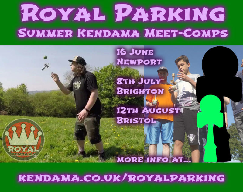 Royal Parking kendama events 2018